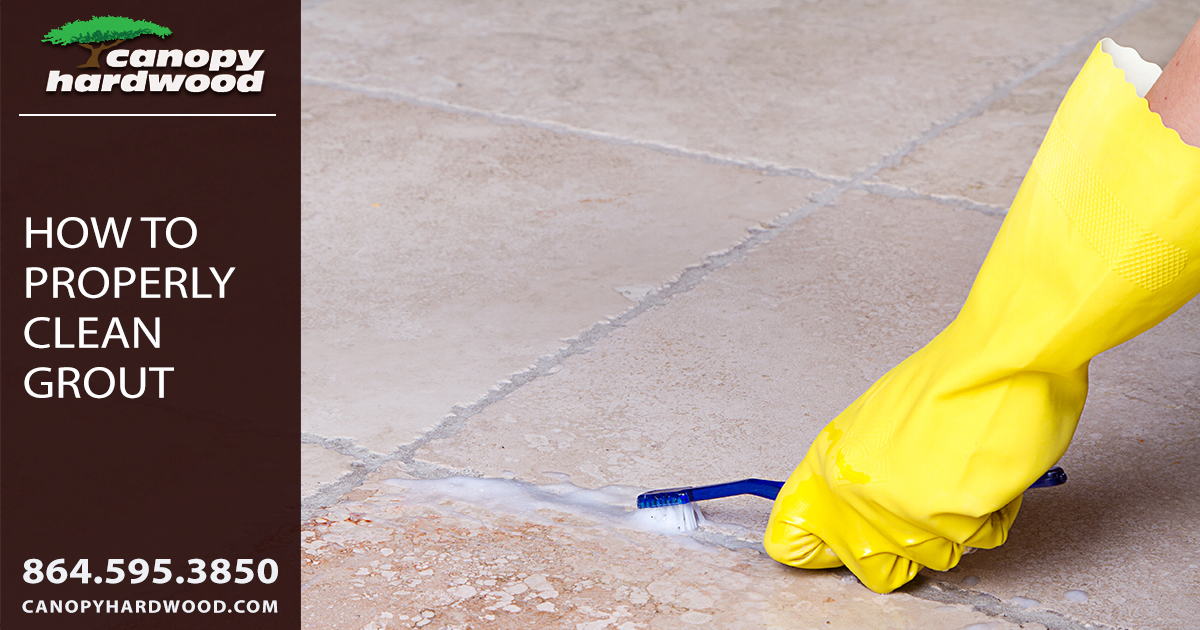 How To Properly Clean Grout