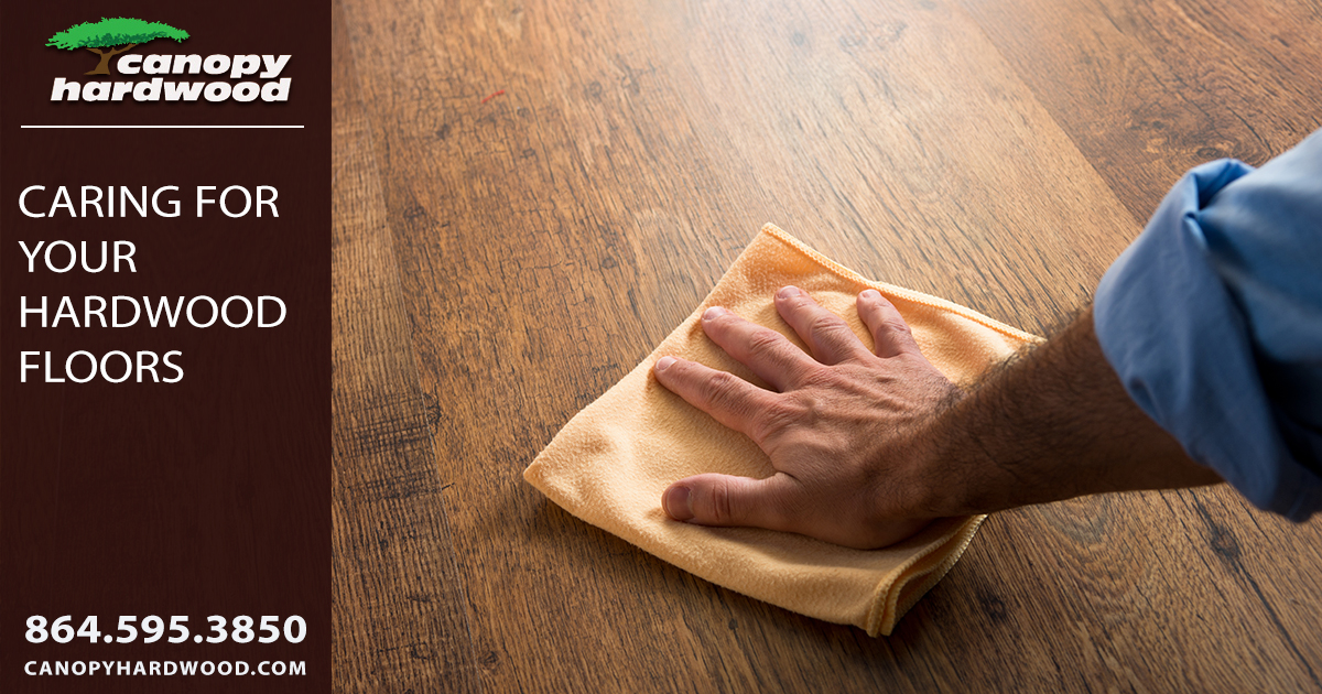 Caring For Your Hardwood Floors