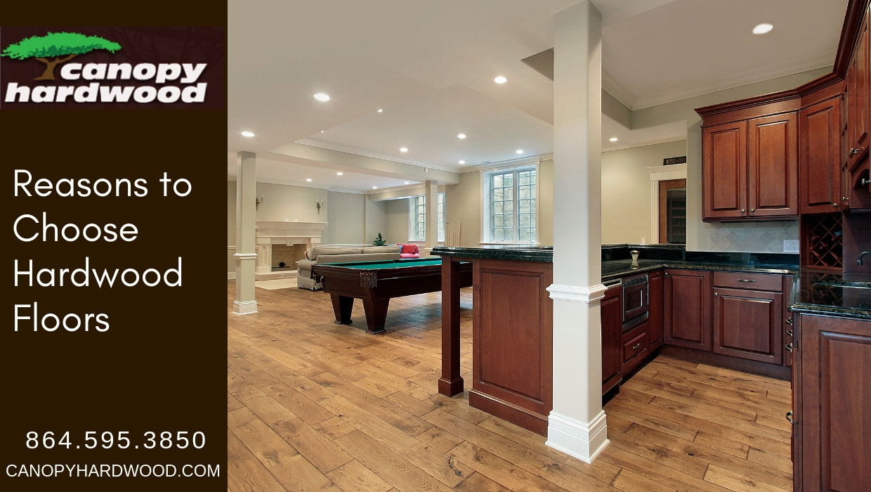 Reasons to Choose Hardwood Floors