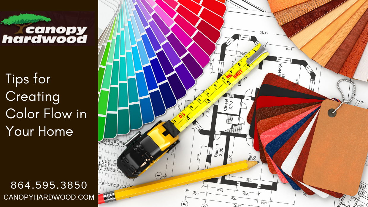 Tips for Creating Color Flow in Your Home