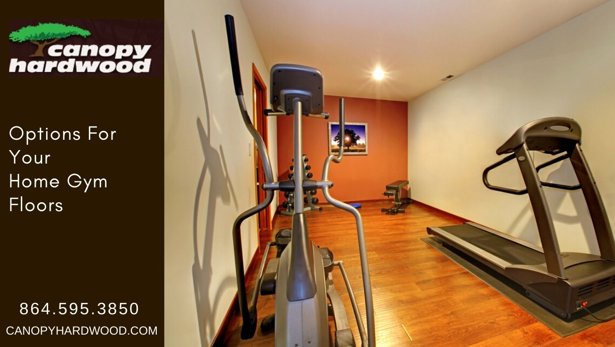 Options For Your Home Gym Floors