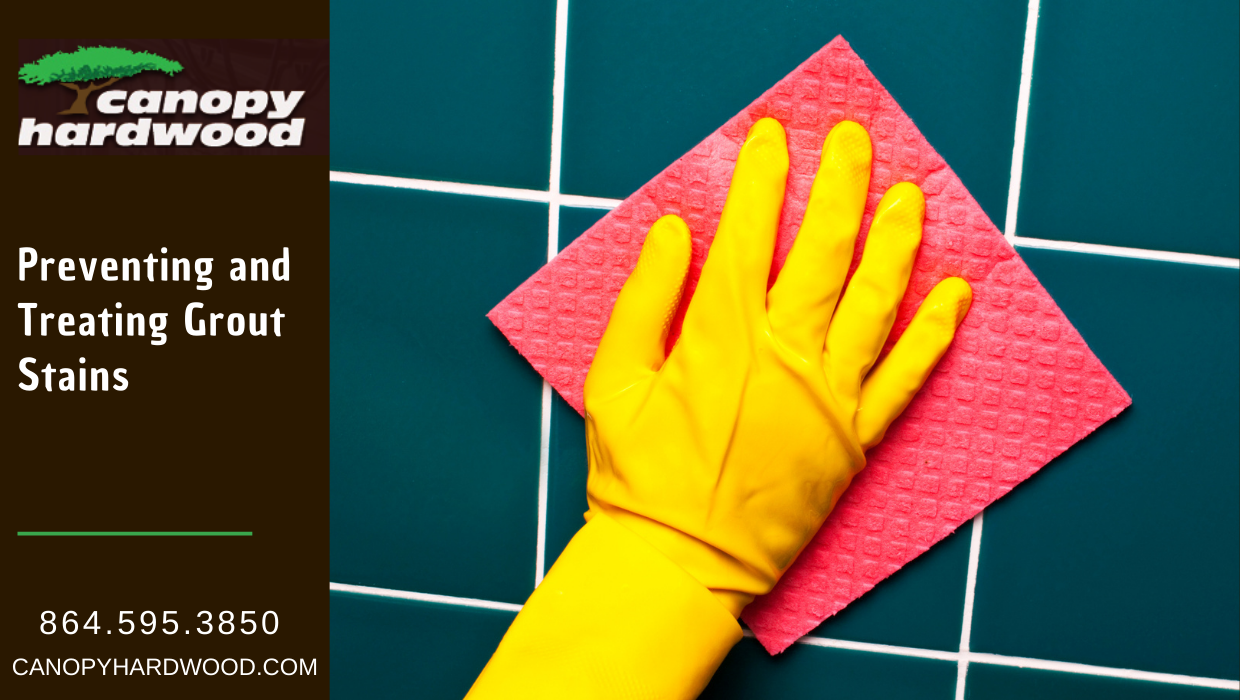 Treating Grout Stains