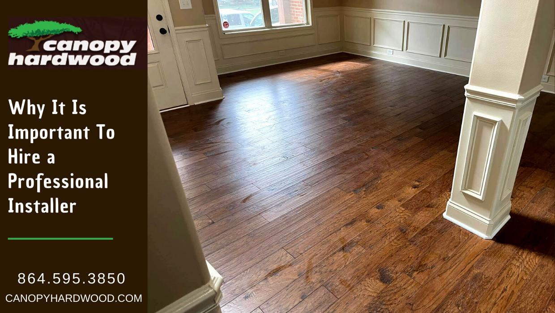 Professional Flooring Installer